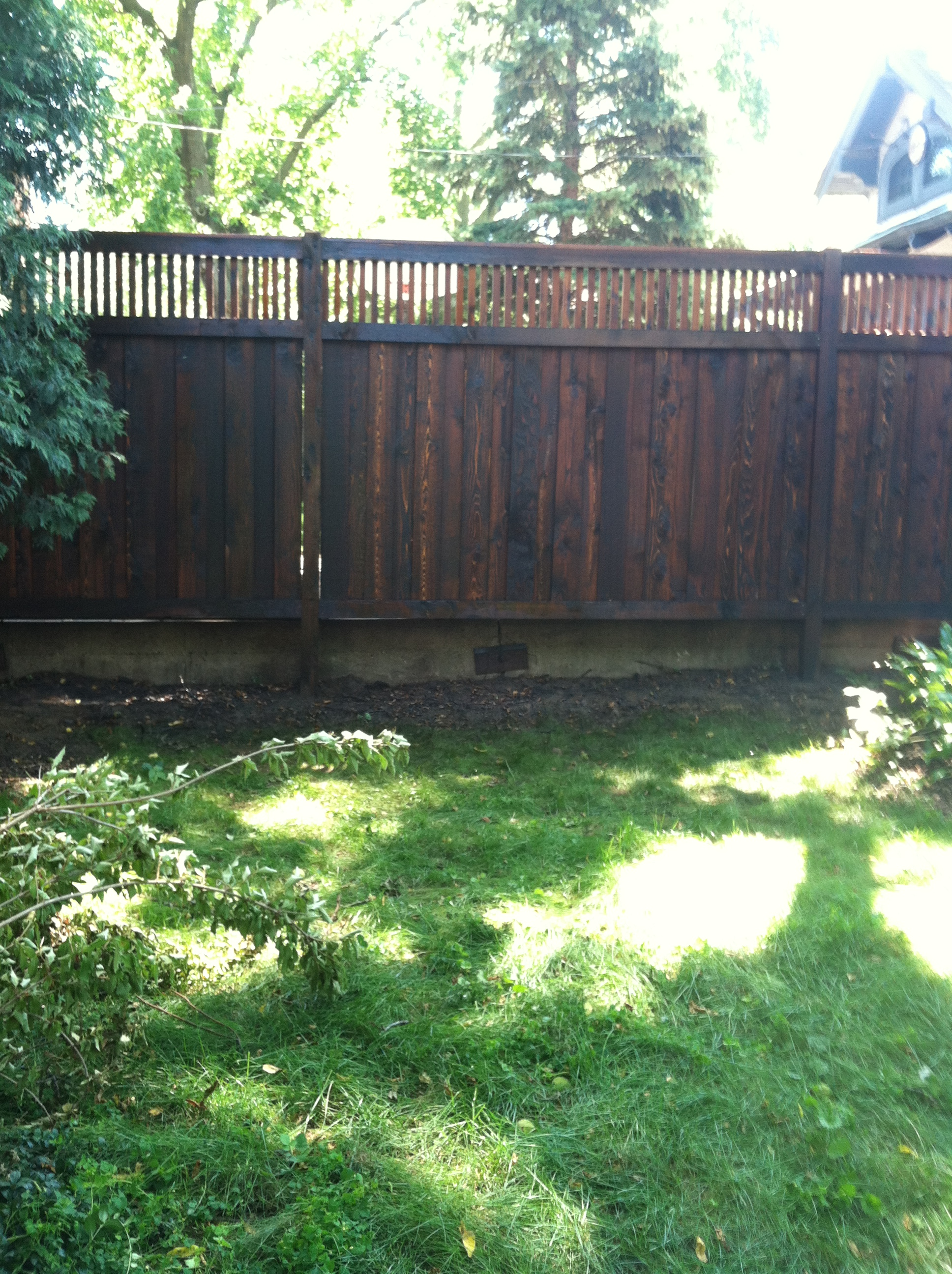 Oxford Brown fence stain